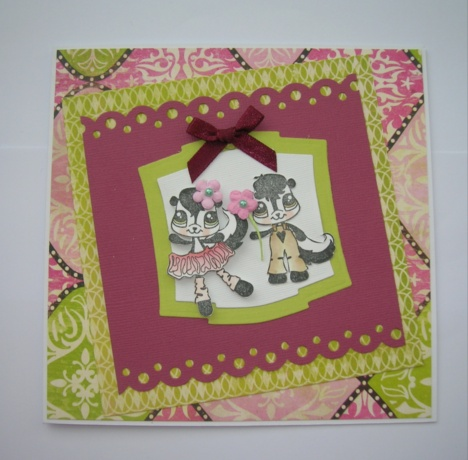 Little Stinkers and Mimi paper and cardstock