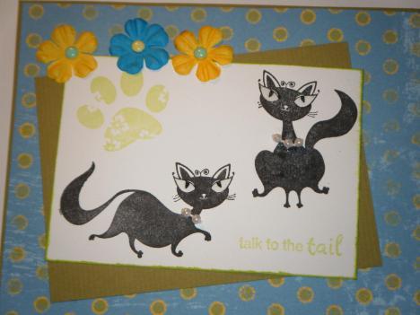 Cat-titude  card close-up