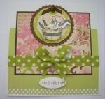 Jill's 4th week card