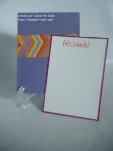 "Pocket card ""abierto""."
