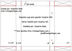 Diagrama de cortes. Click en la foto para tamaño completo.