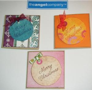 Tarjeta del newsletter y las dos tarjetas realizadas en el video de Facebook.